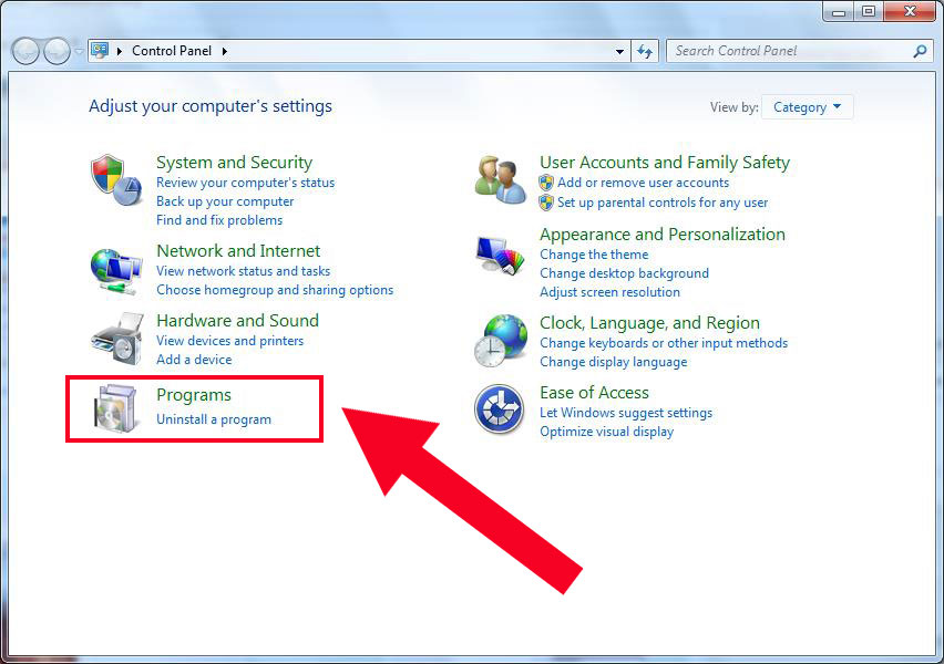 Activate Run Command, Add, Remove, Repair Programs, Add or Copy a To manually set a program to always run as an administrator in Windows 7 or Vista:.