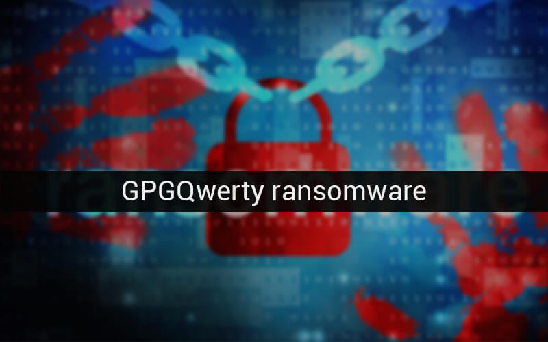 GPGQwerty ransomware removal