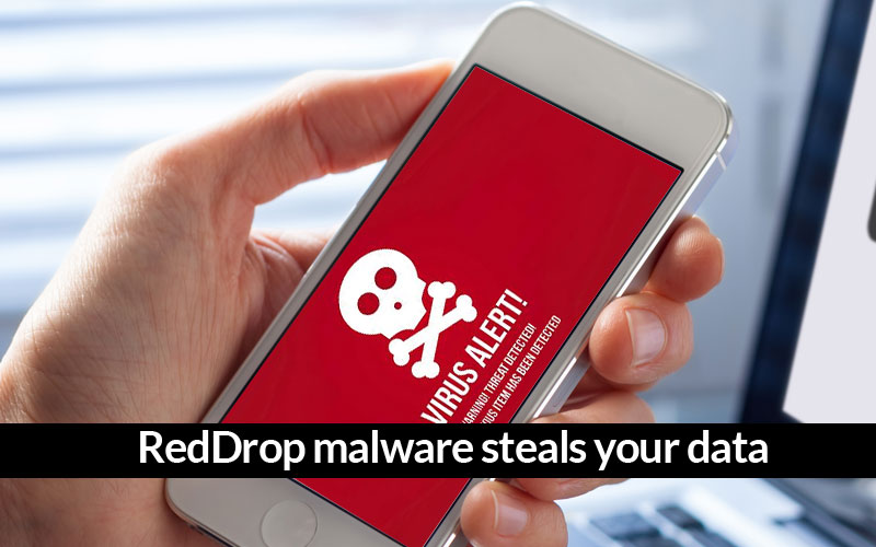 RedDrop malware infects androids