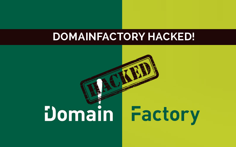 DomainFactory Hacked