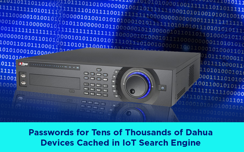 Insecure Dahua DVR - Passwords of Thousands of Dahua Devices