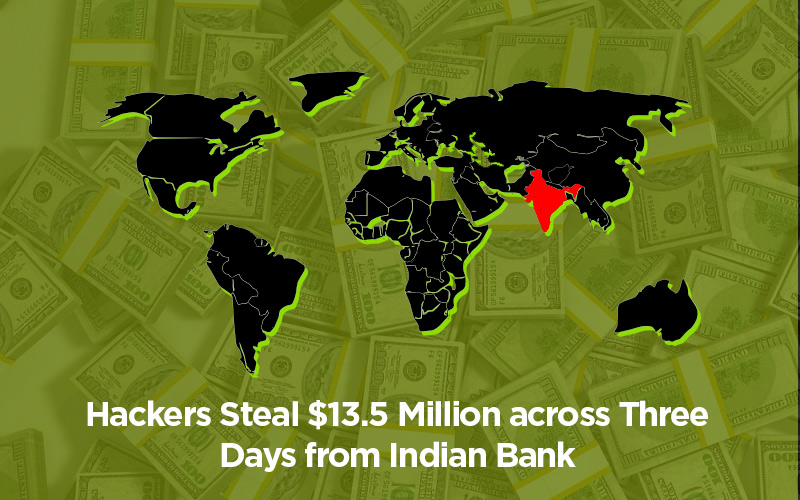 Hackers Steal $13.5 Million
