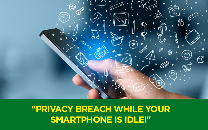 Privacy Intrusion by Android servers