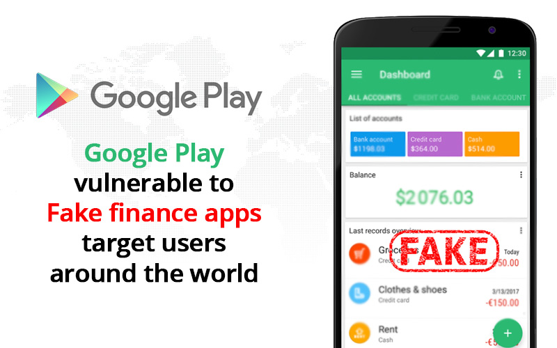 Fake finance apps