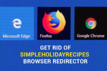 SimpleHolidayRecipes Browser Redirect