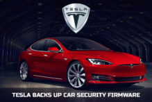 Tesla Backs Up Car Security Firmware