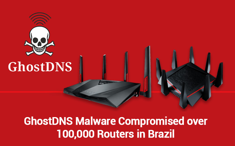 GhostDNS Botnet hijacked over 100,000 home routers in Brazil