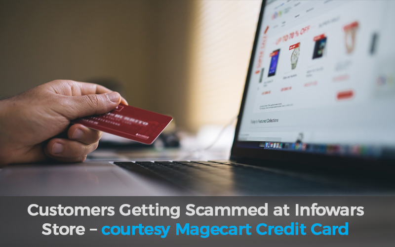 Magecart credit card skimming attack