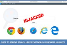 Search.hrecipenetwork.co Browser Hijacker