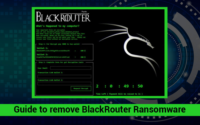 BlackRouter Ransomware