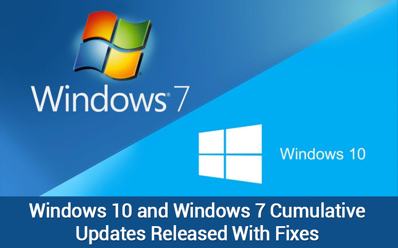 Windows 10 & 7 update