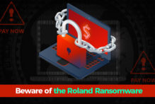 Roland-Ransomware - Banner