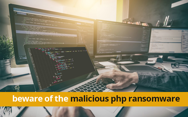 malicious-php-ransomware-banner