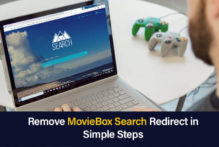 MovieBox Search Redirect