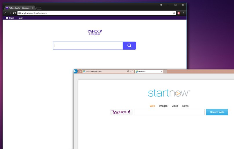 Yahoo Search Redirect Virus