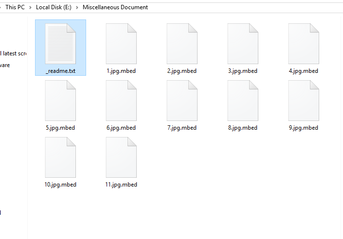 Mbed Encrypted Files